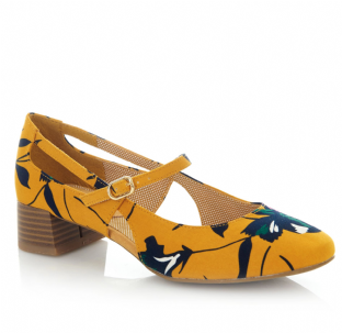 Ruby Shoo Iris Ochre Shoes